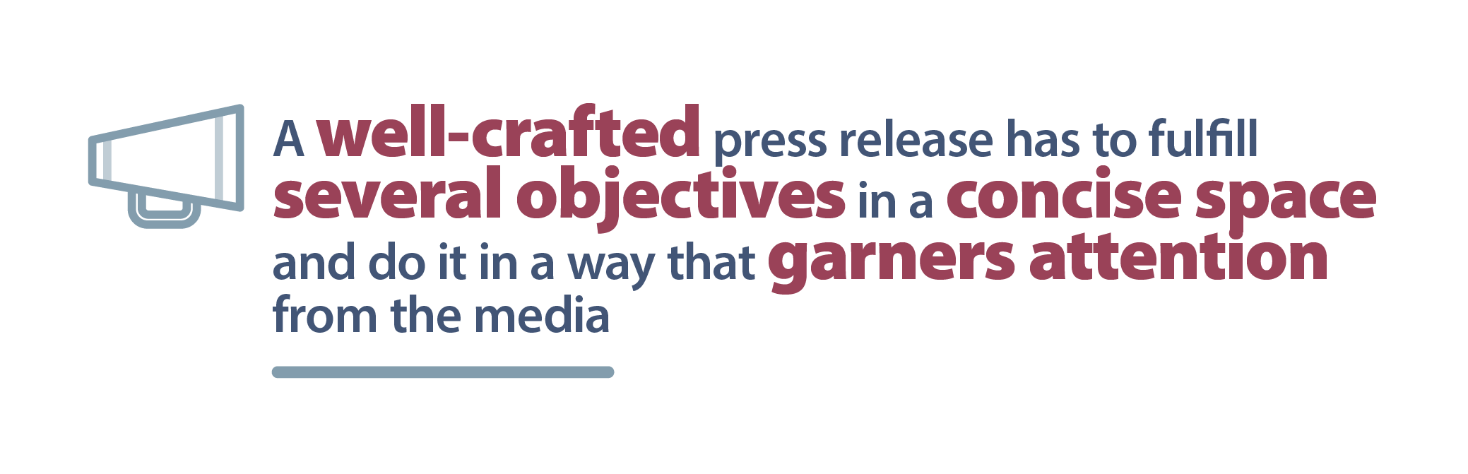 a well-crafted B2B press release